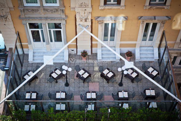 Hotel Bristol - Terrazza
