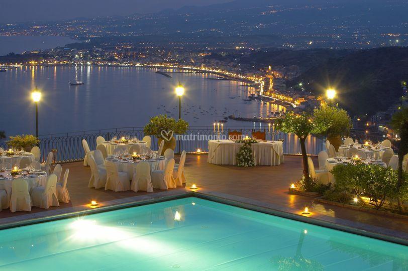 Terrazza di Hotel Villa Diodoro Taormina   Foto 33