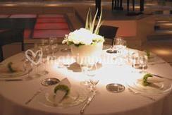 Dettagli decorativi tavolo