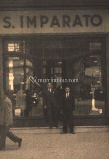 Il punto vendita nel 1947