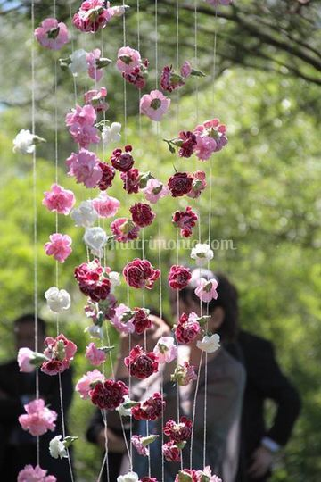 La tenda di fiori