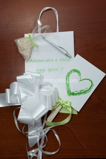 Contenuto wedding bag