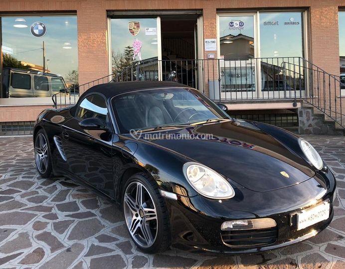 Porsche Boxster cabrio  2 post