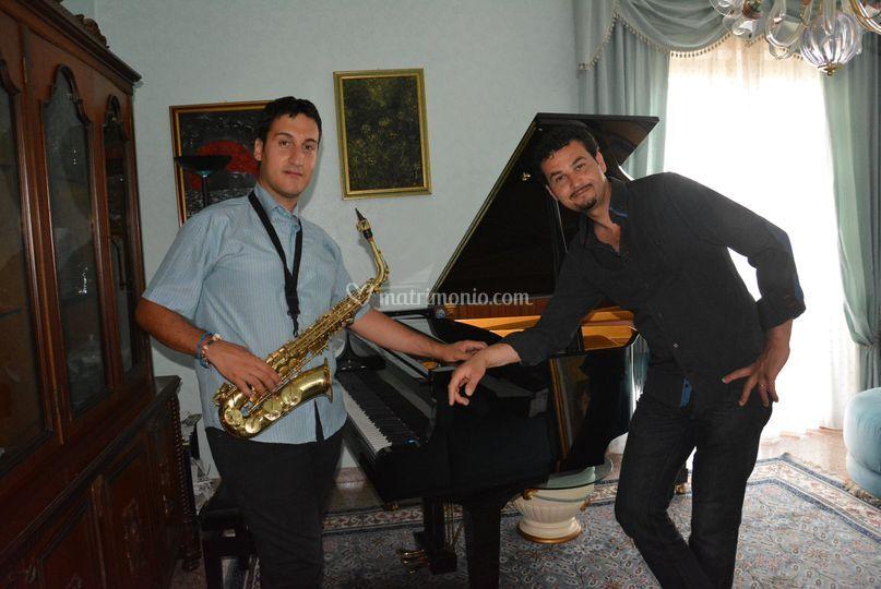 Pianoforte e saxofono