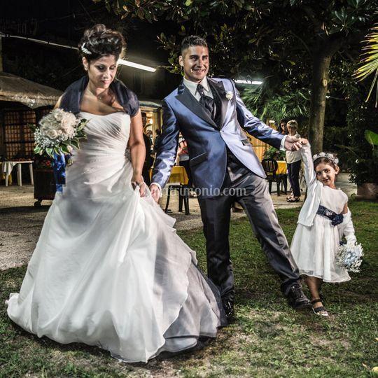 Francesca e Carlos Christian