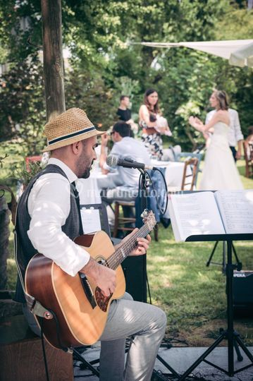 Guitarboy and the bride