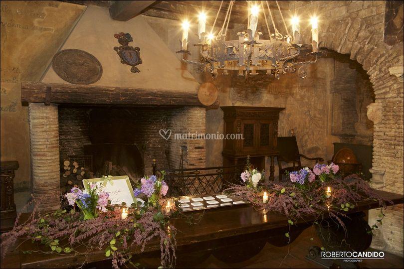 Plan de table in taverna