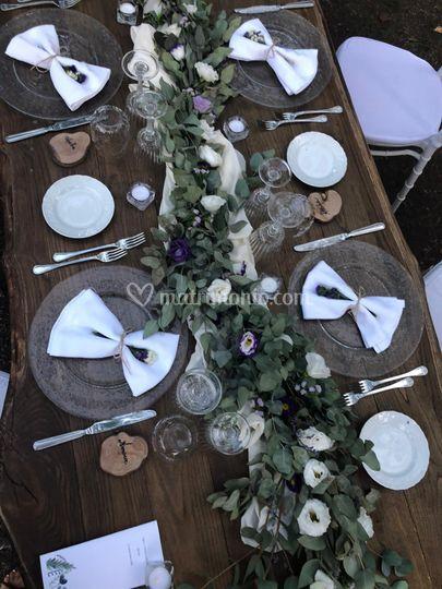 Banqueting tavolo nudo