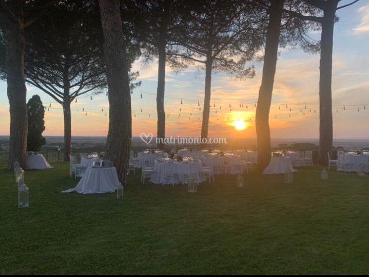 Matrimonio terrazza panoramica