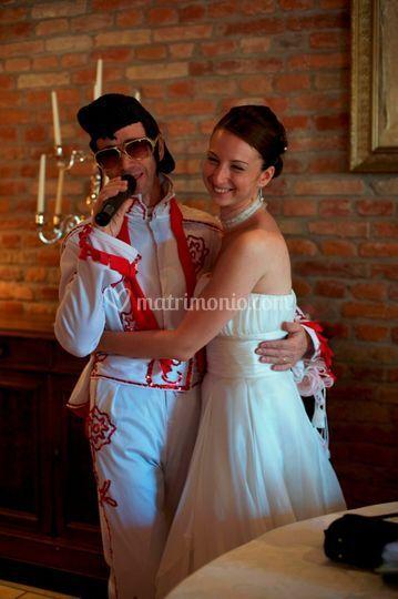 Elvis presley e la sposa