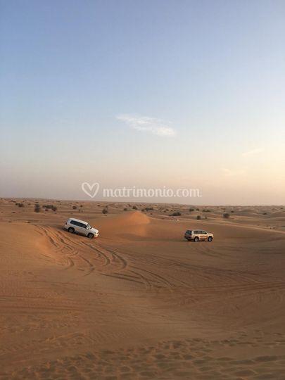 Gita nel deserto - Dubai