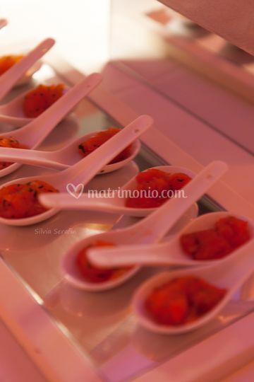 Tartare finger food