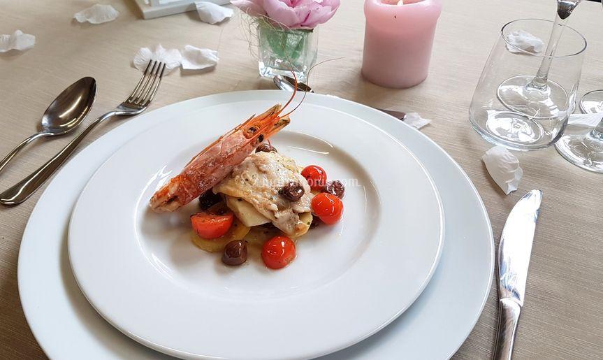 Secondo di pesce di top parties foto 50 - Pesce su letto di patate ...