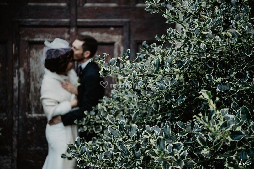 Elegante matrimonio invernale