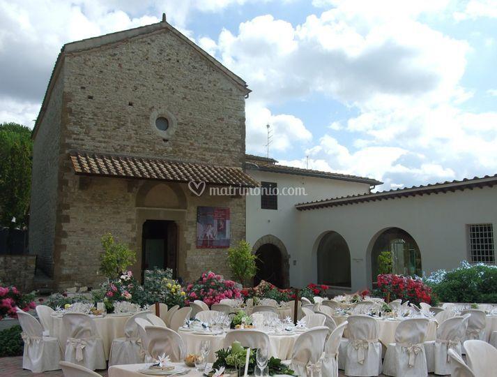 Il piazzale dell 39 oratorio di santa caterina fotos for Bagno a ripoli matrimonio