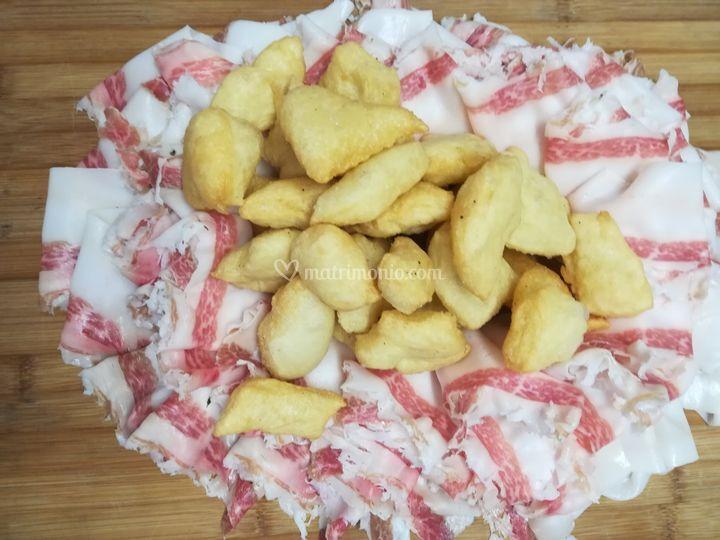 Fragrante gnocco fritto