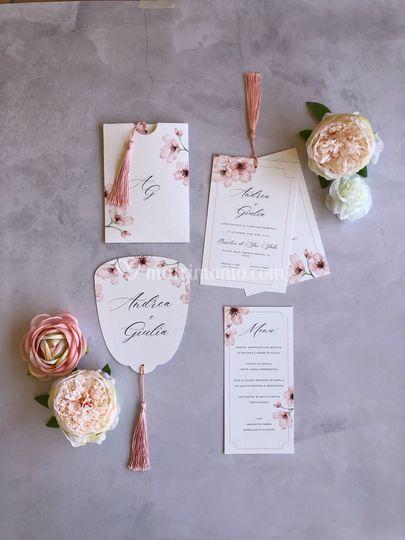 Grafica fiori di ciliegio