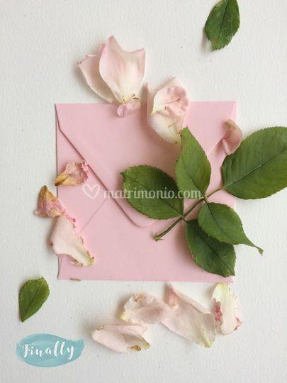 Busta Rosa Confetto