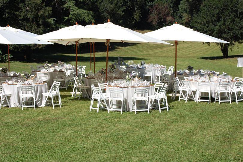 Europarty Garden Wedding