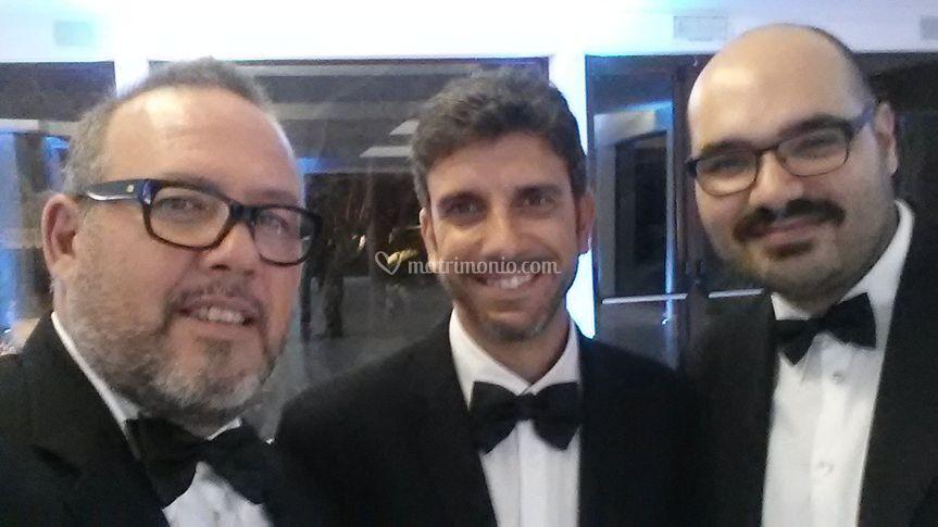 Max Wedding trio