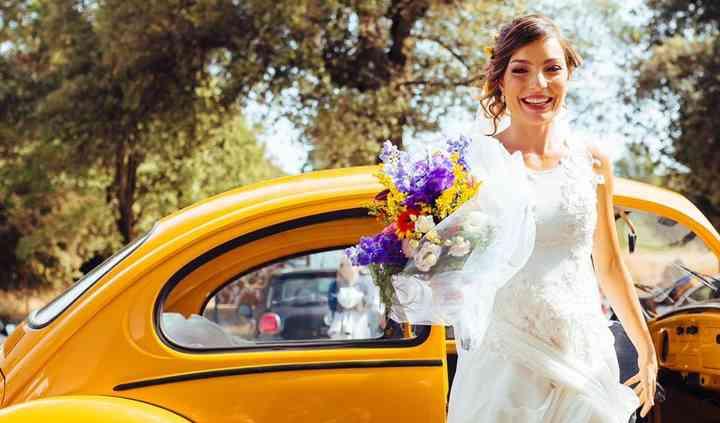 Matrimonio country sposa