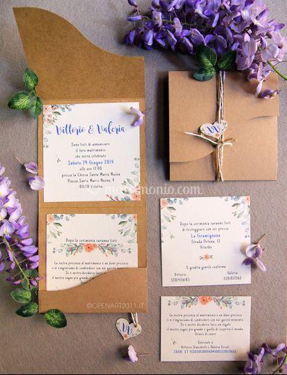 RomanticFlower Invitation