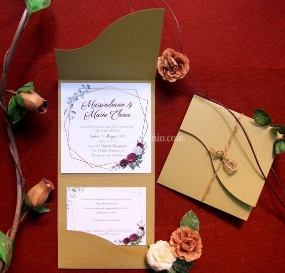Pocket Romantic Rose