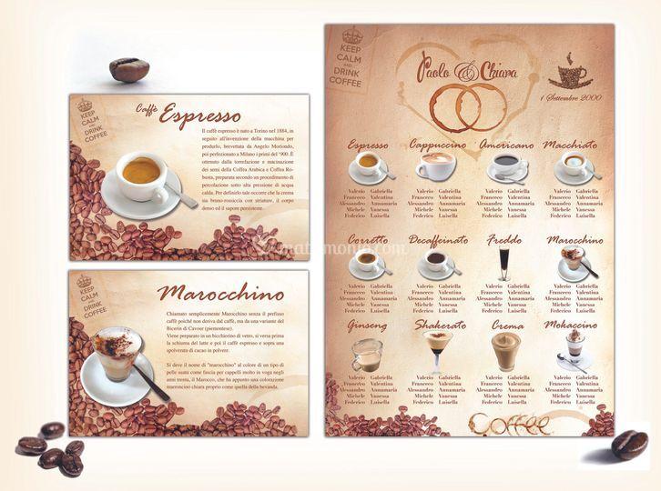Tableau per gli amandi del caf