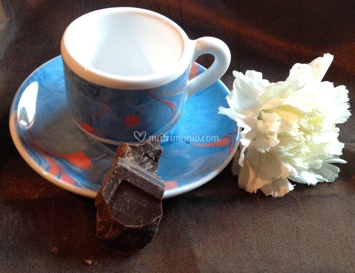 Tazzina caffè Iris