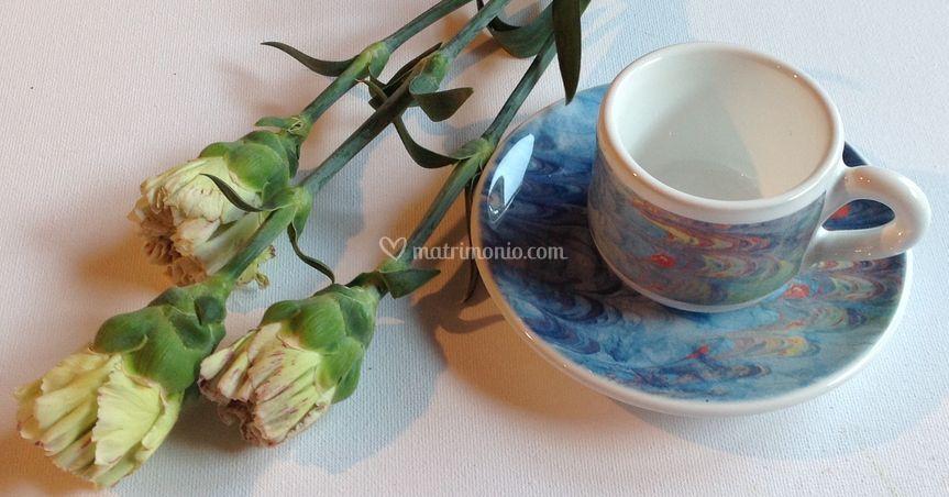 Tazzina caffè Pavone