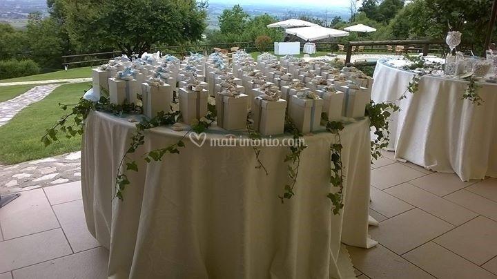 Tavolo bomboniere di oasi bellavista location foto 58