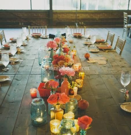 The rustic modern table