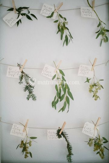 Simply tableau mariage