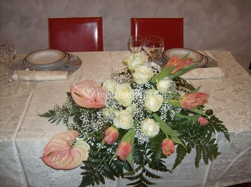 Fioridea speciale sposi for Tavolo degli hobby