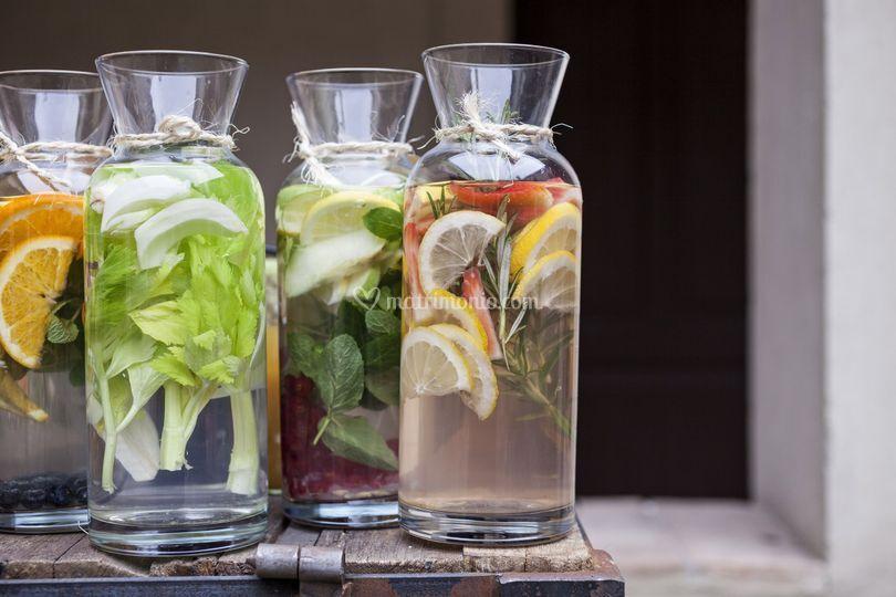 Acqua aromatizzate