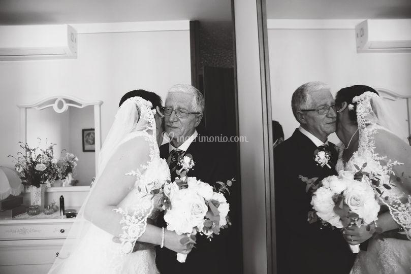 Matrimonio - sposa -emozione