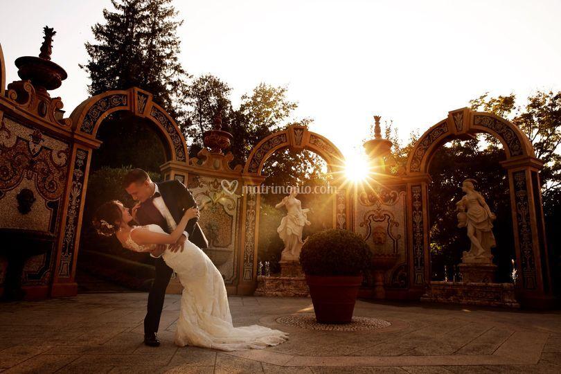Matrimonio - sposi -Stresa