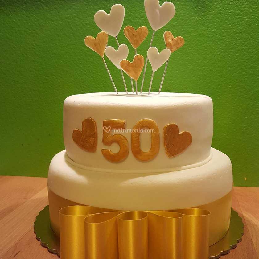Torte Anniversario Di Matrimonio Pasta Di Zucchero.Torte Anniversario Matrimonio Di Pasta Di Zucchero Lab Foto 10