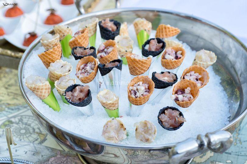 Food design di Catering Enoteca La Torre