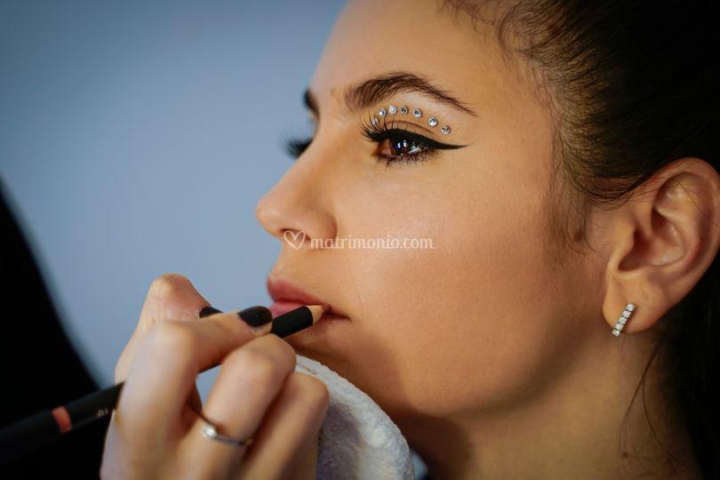 Makeup sposa glam