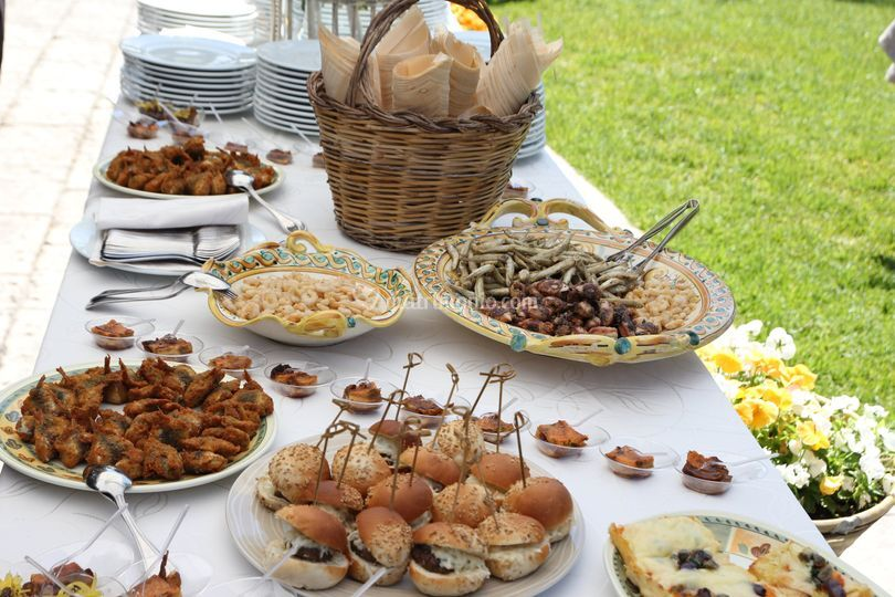 Aperitivo buffet