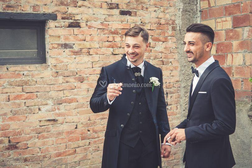Lo sposo con il fratello