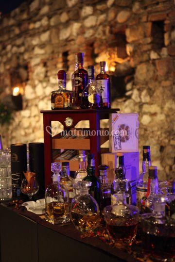 Servizio sigari e distillati