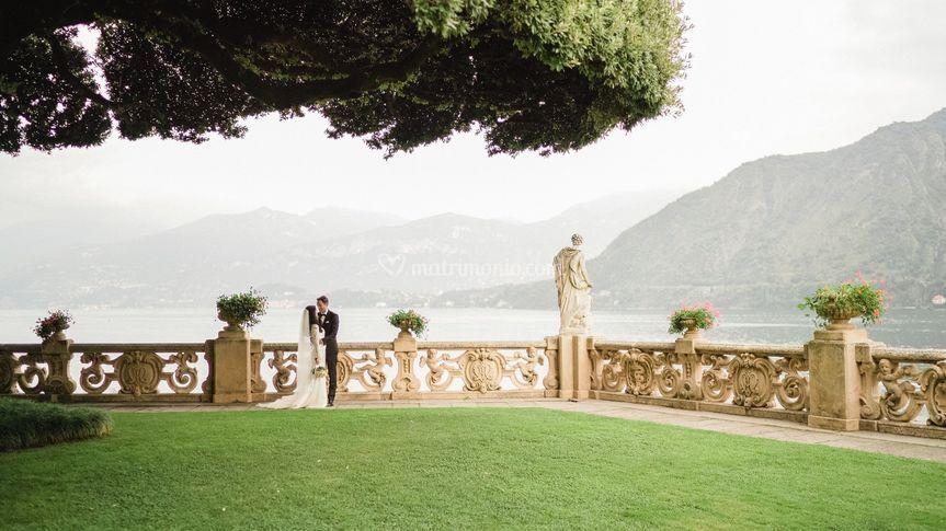 Wedding in villa Balbianello
