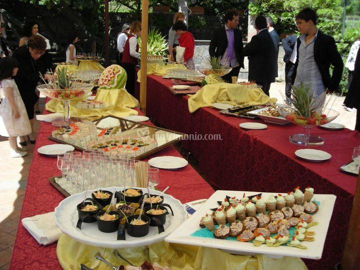 Il Buffet aperitivo