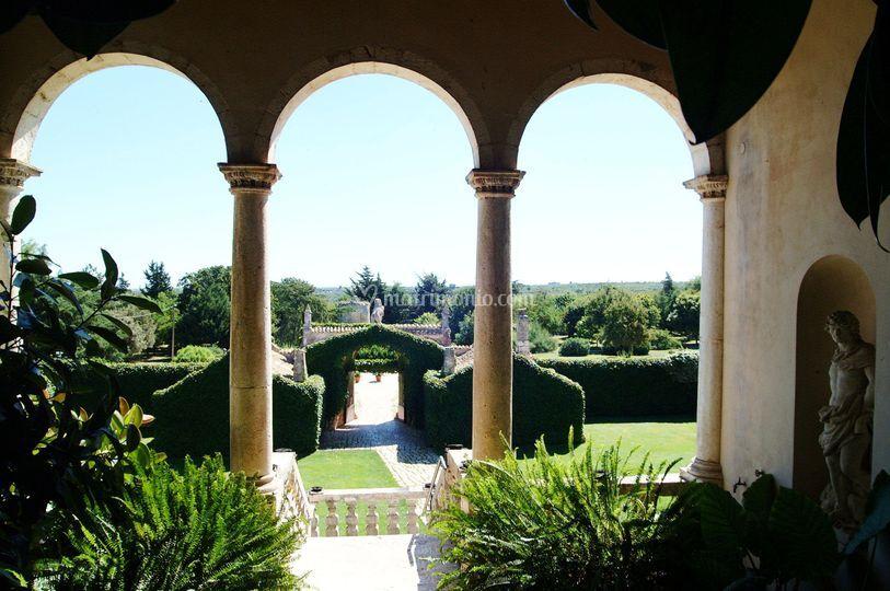 Castello marchione for Cortile circolare