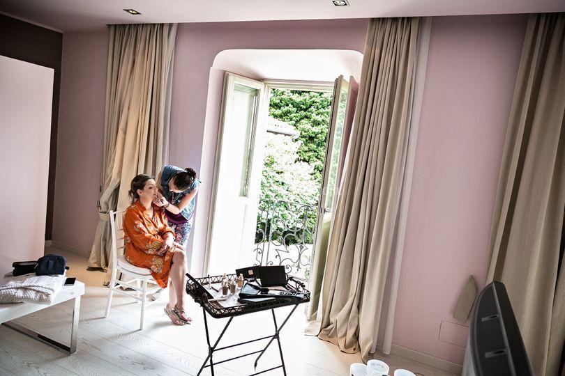 Suite per preparativi sposa