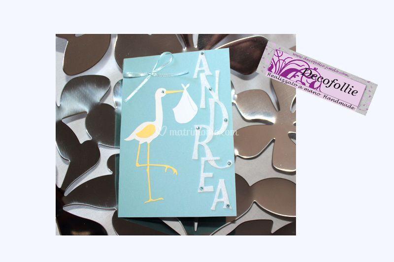 Card Nascita personalizzata