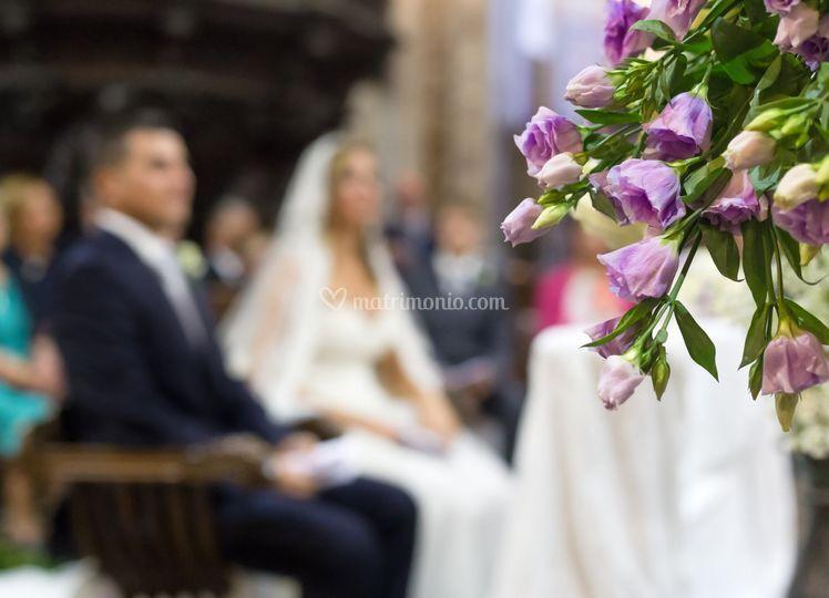 Le nozze in lilla...