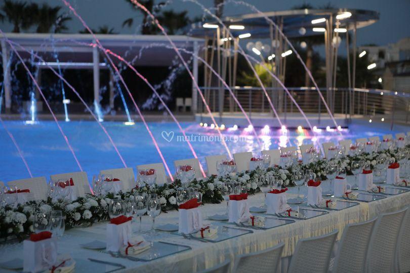 Tavolo imperiale Oasi